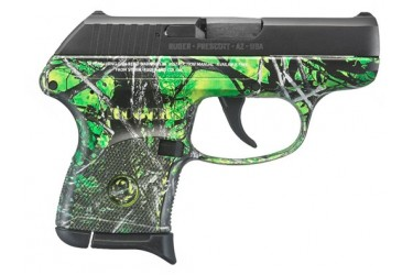 Ruger LCP Toxic Camo .380