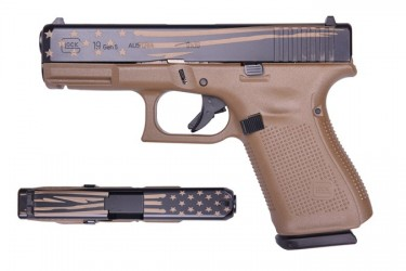 Glock 19 Gen 5 Flag 9mm