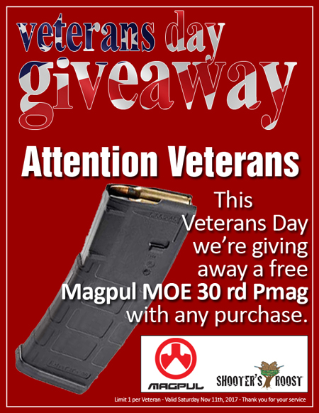 Veterans Day Giveaway